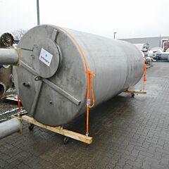 10000 liter buffer tank, Aisi 304