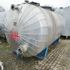 11690 liter insulated tank, Aisi 304