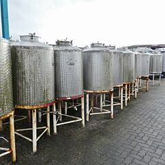 600 Liter Tank aus V2A