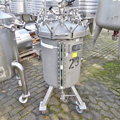 130 Liter Behälter aus V4A