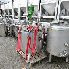 380 Liter heiz-/kühlbarer Druckkessel aus V4A