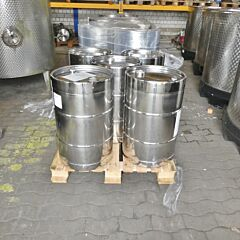 100 liter stainless steel barrel, Aisi 304