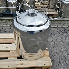 93 liter heat-/coolable pressure vessel, Aisi 316 with magnetic agitator