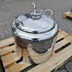 70 Liter heat-/coolable pressure vessel, Aisi 316 with magnetic agitator