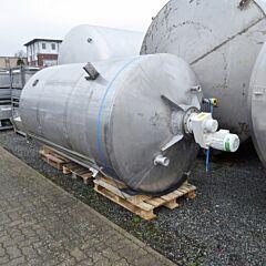 7500 Liter Behälter aus V2A