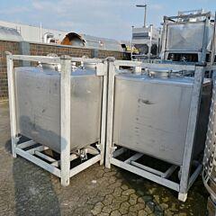 900 Liter Behälter aus V4A