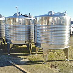 5080 Liter Behälter aus V2A