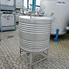 700 liter container, Aisi 304