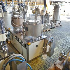 Mixing system, Aisi 304