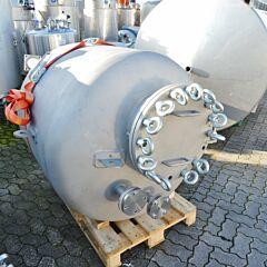 1217 liter pressure tank, Aisi 304