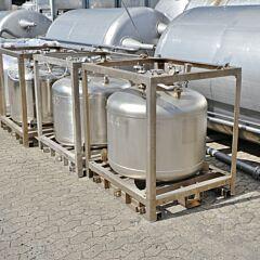 550 liter pressure container, Aisi 316
