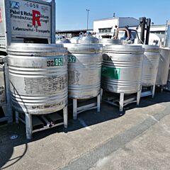 800 liter pressure container, Aisi 304