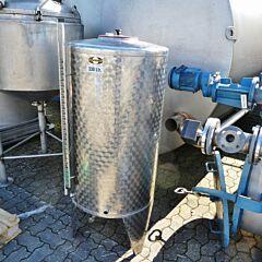 330 Liter Tank aus V2A
