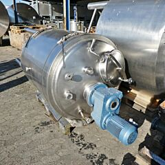 1200 liter heat-/coolable tank, Aisi 304