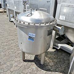 280 Liter Druckbehälter aus V2A