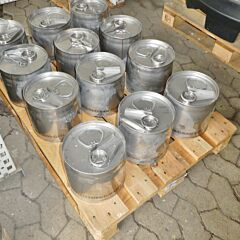 6 Liter Edelstahlkanister aus V2A mit Gefahrgutzulassung (ADR)