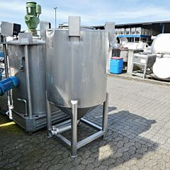 750 Liter Konuscontainer aus V4A