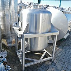 750 liter container, Aisi 316