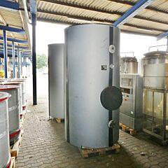 2000 liter insulated pressure tank, Aisi 316