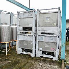 800 Liter IBC-container, Aisi 304