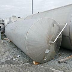 16000 liter agitator tank, Aisi 304 with jet stream mixer
