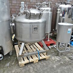 590 liter pressure tank, Aisi 316