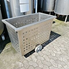 250 liter trolley, Aisi 304