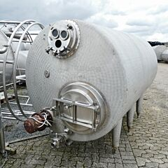 5000 liter insulated storage tank, Aisi 304