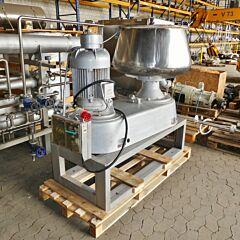 170 liter powder mixer, Aisi 304 with star mixer