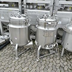 150 Liter heat-/coolable pressure vessel, Aisi 316 with magnetic agitator