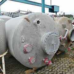 7400 Liter Druckbehälter aus V2A