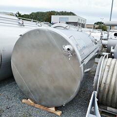 15000 Liter heiz-/kühlbarer Behälter aus V2A