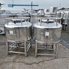500 Liter Konuscontainer aus V4A