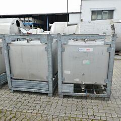 1000 liter IBC container, Aisi 304