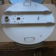 Klappdeckel mit Spritzlippe für SDE 550 Liter