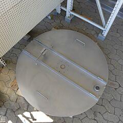 Klappdeckel mit Spritzlippe für SDE 1150 Liter