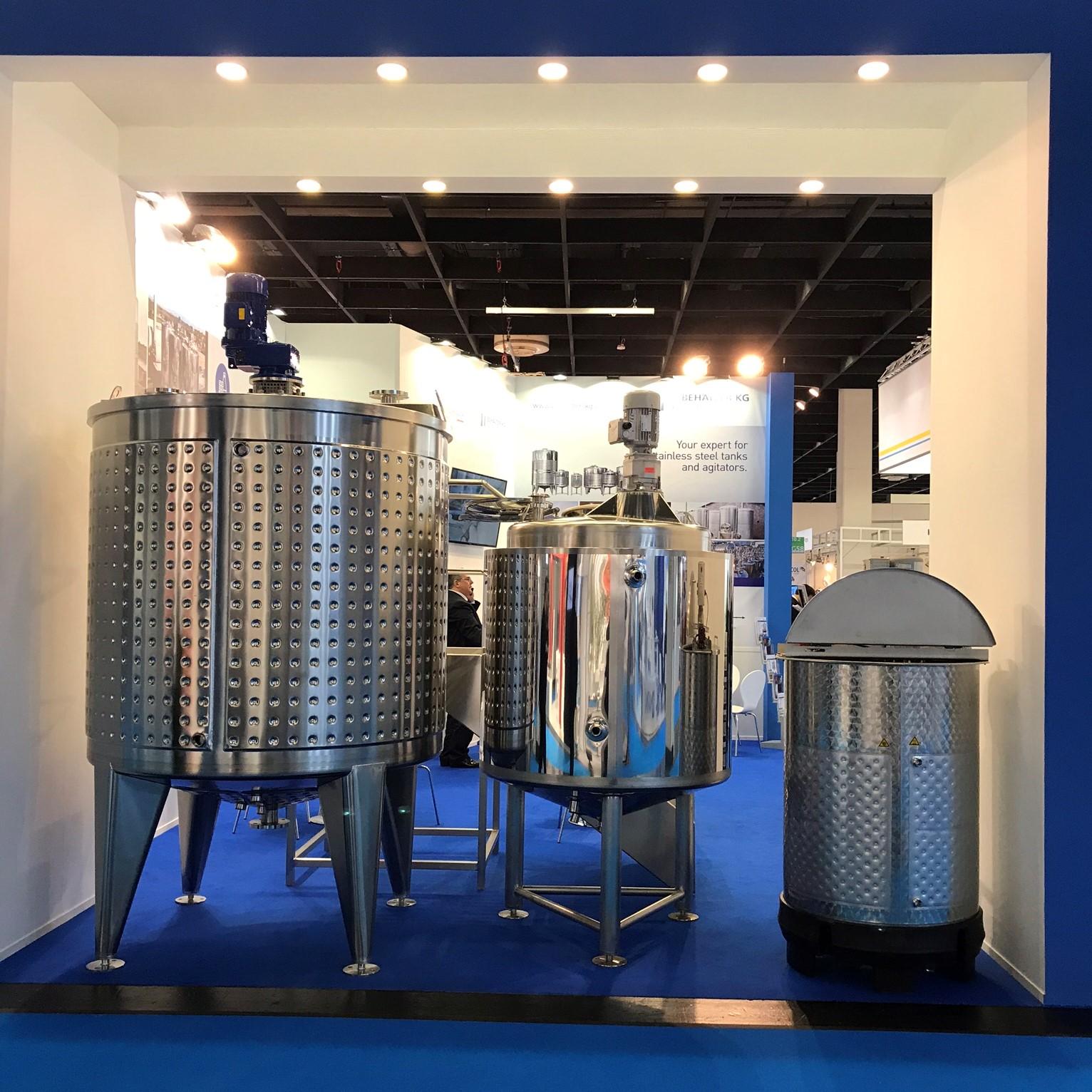Behälter KG exhibits at the Anuga FoodTec fair '18 / 19 in Cologne