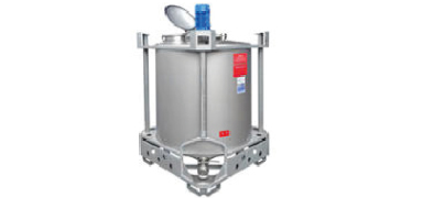 AIT-Containermix: Rührwerkscontainer