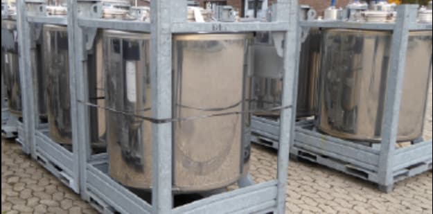 Stainless steel IBC Container